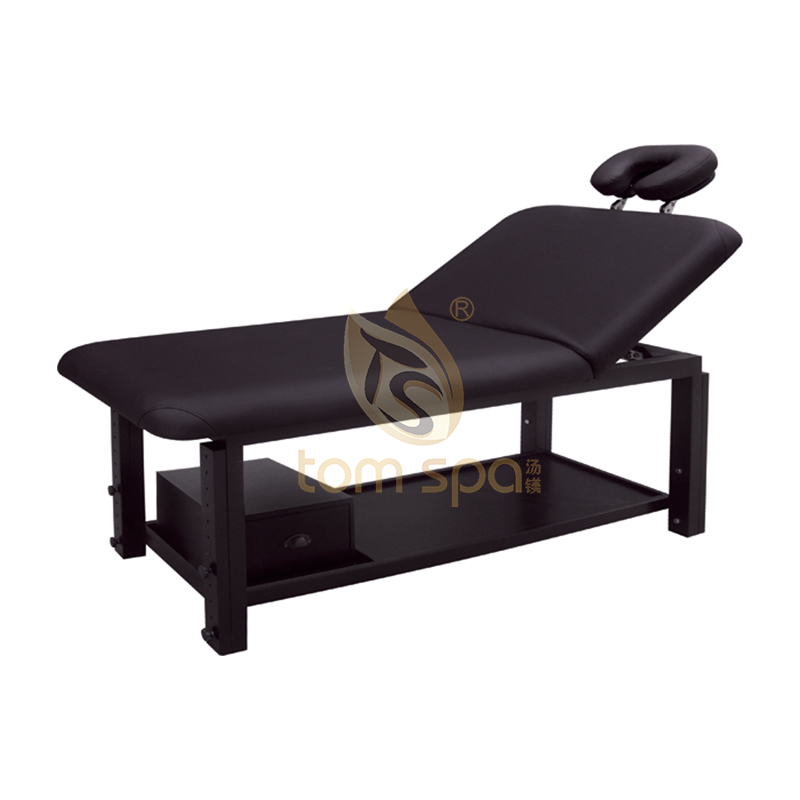 Solid Wood Massage Bed With Big Storage Space