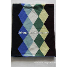 men's knitted cashmere scarf/muffler