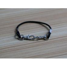 2016 newest simple rubber cord fish hook bracelet