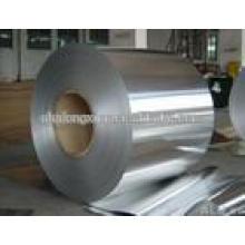 Lamelle en aluminium de qualité pour l'emballage alimentaire