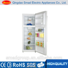 Best quality domestic use double door refrigerator with lock and key