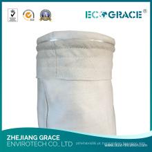 Saco de filtro industrial do PE para a coleção de poeira no filtro de papel da planta