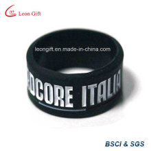Черный цвет вставки логотипа силиконовые браслеты