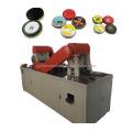 Línea de máquina para fabricar latas de pulido de zapatos negro