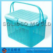 Molde cesta de piquenique de plástico