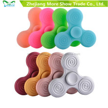 Wholesale Sillicone Fidget Hand Spinner Adhd EDC Focus Anxiety Toy