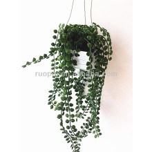 Yiwu high imitation mini artificial hanging potted bonsai