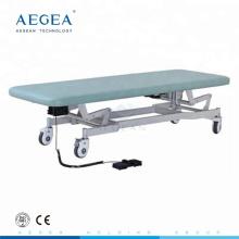 Mesa de examen de paciente ajustable eléctrica de grado superior AG-ECC03