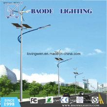 Diodo emissor de luz 10m-Pole-70W e luz de rua solar híbrida do vento 300W (BDTYNSW2)