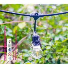 SLT-131 UL approbation IP44 imperméable à l'eau de l'Amérique fiche cordon cordon d'alimentation lumières étanches