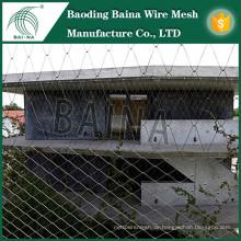 Externe Fassaden Dekorieren Draht Mesh Zaun / Metall Dekoration Mesh Zaun / Exterieur Schutz gewebt Draht Mesh