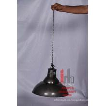 Lámpara de hierro redondo