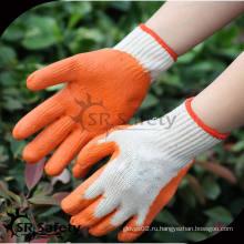 SRSAFETY 10G Перчатки трикотажные промышленные резиновые