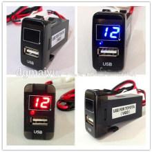 3 Stellen Genauigkeit Armaturenbrett Voltmeter Thermometer für Toyota