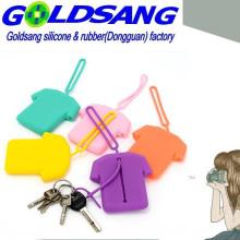Corea linda de silicona ropa clave bolsa / bolsa de bolsillo