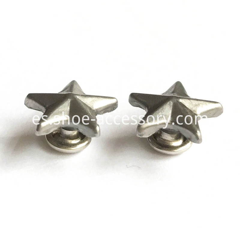 Black Nickel Star Rivets