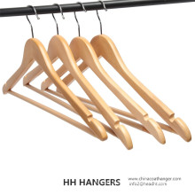 Basic Regular Natural Bar Wooden Hanger for Wholesale
