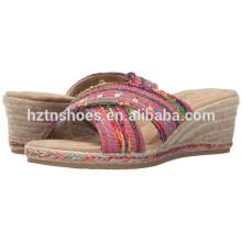 2016 verão mais recente estilo senhoras sandálias sandálias chinelos