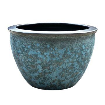 Изготовленный на заказ красочный цветочный керамический горшок для кашпо