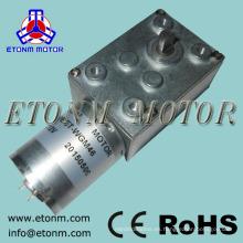 motor del engranaje del gusano de la CC motor de asar resistente del bbq 12v 24v