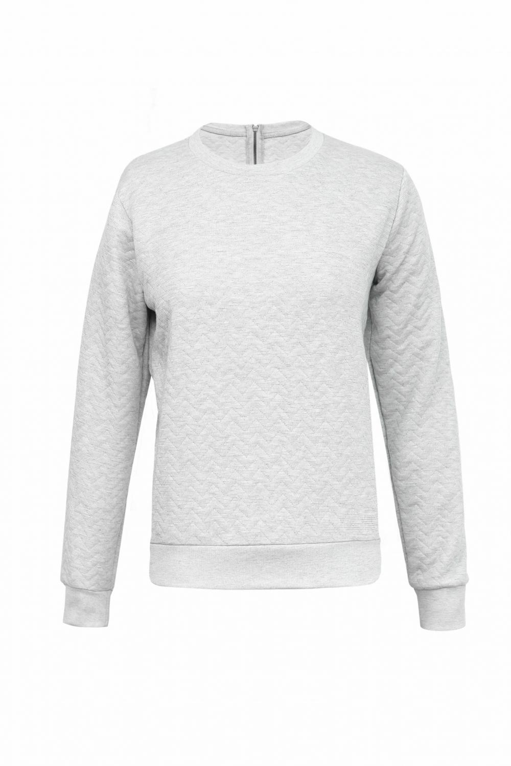 Ladies Knit Jacquard Pullover