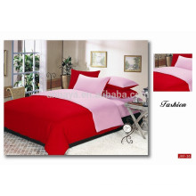 Queen Size Cotton Duvet Cover Bedding Set Solid Color from China