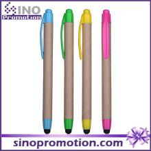 Eco-Friend Click caneta esferográfica com ponta de borracha
