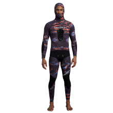 씨 스킨 3MM Jako Neoprene Camo Spearfishing 잠수복