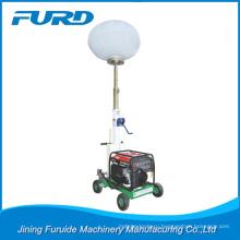Best price 3kw gasoline generator balloon light tower for night construction