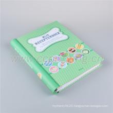 Custom design print paperback diary notebook