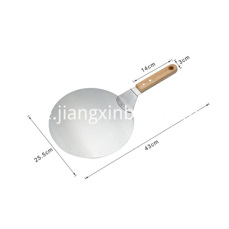 Stainless Steel Round Pizza Shovel Aceessories
