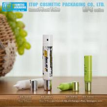 Durchmesser 16mm, 19mm und 22mm feinen Nadel Düse Schraubverschluss guter Qualität Rundrohr Pe weiche Verpackung kosmetischer