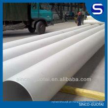 Tubo 304 316LSmls de aço inoxidável / tubulação para o gás de petróleo