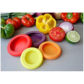 Food Huggers Silikonowe warzywa Fruit Wrap Container