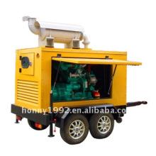 Trailer diesel generator set 16KW/20KVA