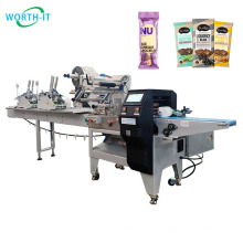 Fully automatic horizontal wrapping flow pack packing machine ice cream stick packaging machine