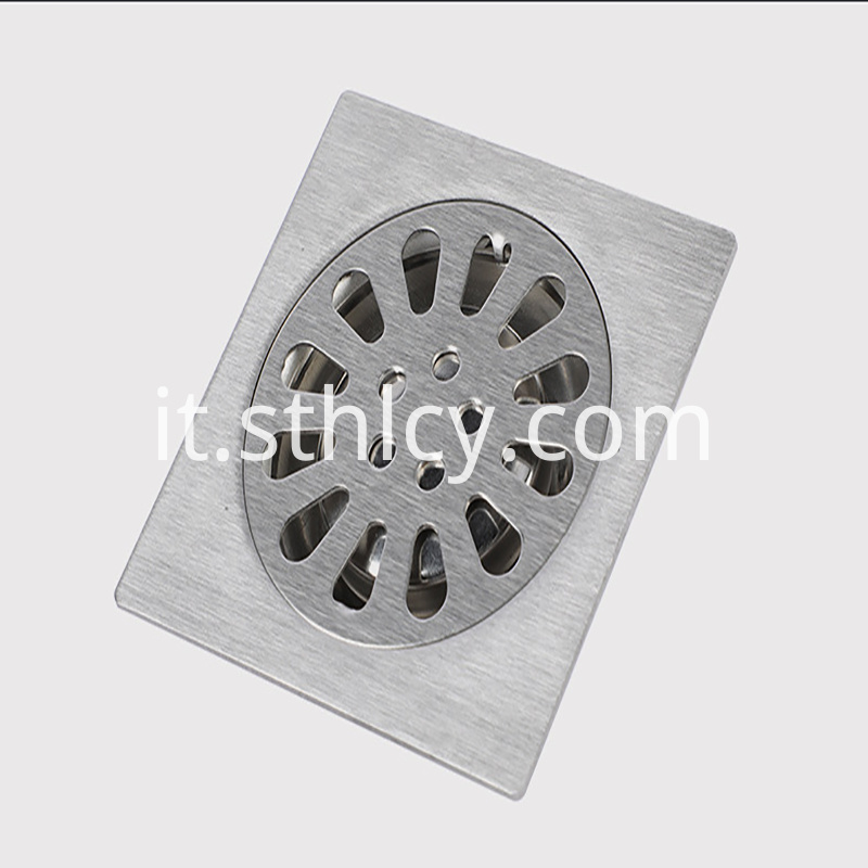 Stainless Steel Family Floor Drain