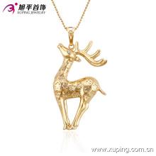 32513 Xuping caractéristique animal pendentif mode or bijoux fabriqués en gros en Chine