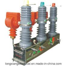 Disjuntor de vácuo de alta tensão exterior Zw32-12