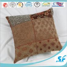 Housse de coussin carrée à carreaux chinois pour coussin de chaise de canapé de restaurant d'hôtel à la maison