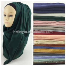 Best selling muslim women head dubai hijab and shawls maxi scarf shawl cotton plaid hijab