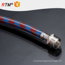 B17 ptfe teflon hose braided with stainless steel 3 inch hose flexible metal hoses