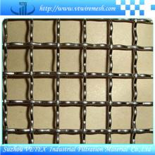 Treillis métallique carré serti utilisé pour le filtre