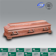 European German Style Cheap Wooden Funeral Coffin Casket_Made in China