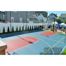 Tinta acrílica para quadra de basquete