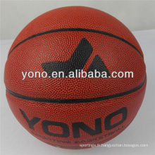 bureau taille 7 YONO marque basket-ball basket-ball imprimé personnalisé balle en cuir pu basket-ball