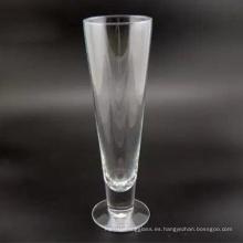 450ml de vidrio de cerveza de pie