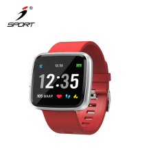 New Color Display Full Screen Multi-touch Smart Bracelet for Blood Pressure and Blood Oxygen Saturation Measurement