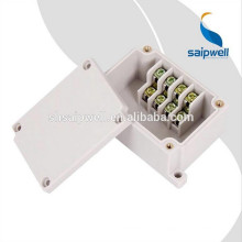 Boîte de jonction électronique en plastique ABS avec bornier