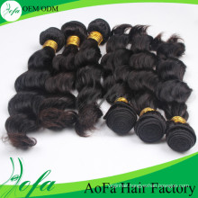 Wholesale Unprocessed Indian Human Hair Remy Hair Weft